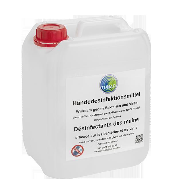 Händedesinfektionsmittel (5 Liter)