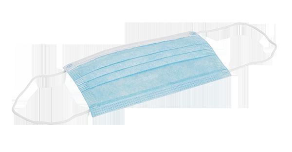 Blaue Schutzmaske BFE 95 lose verpackt (50 Stück)